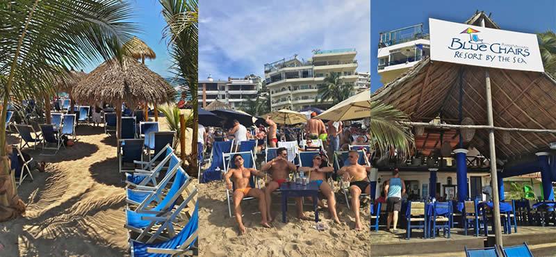 Blue Chair Puerto Vallarta beaches - gay puerto vallarta guide